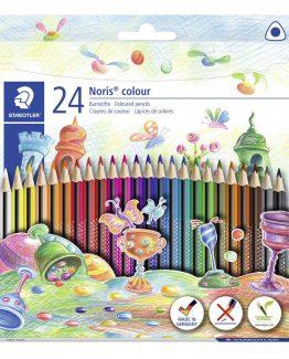 Coloured pencil Noris WOPEX triangular (24)