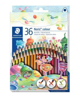 Coloured pencil Noris WOPEX triangular (36)