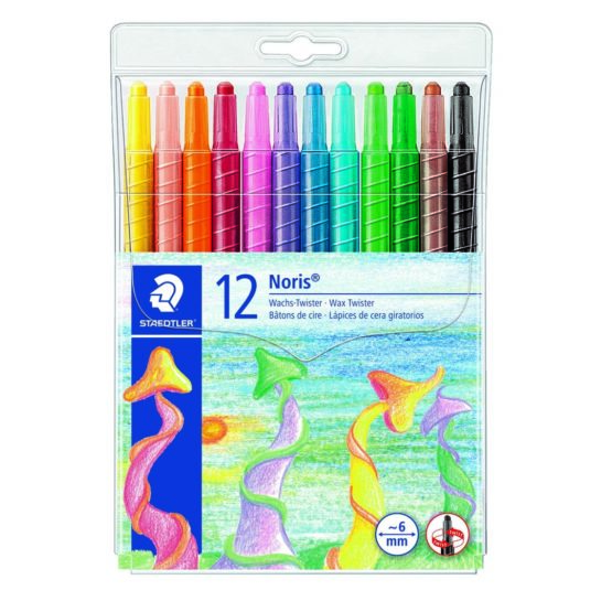 Wax pencil Noris Twister (12)
