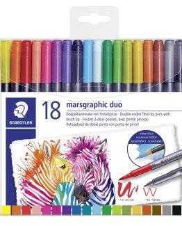 Fiber tip pen Marsgraphic Duo (18)