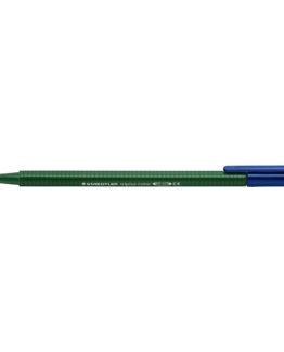 Fiber tip pen Triplus Color 1,0mm green earth
