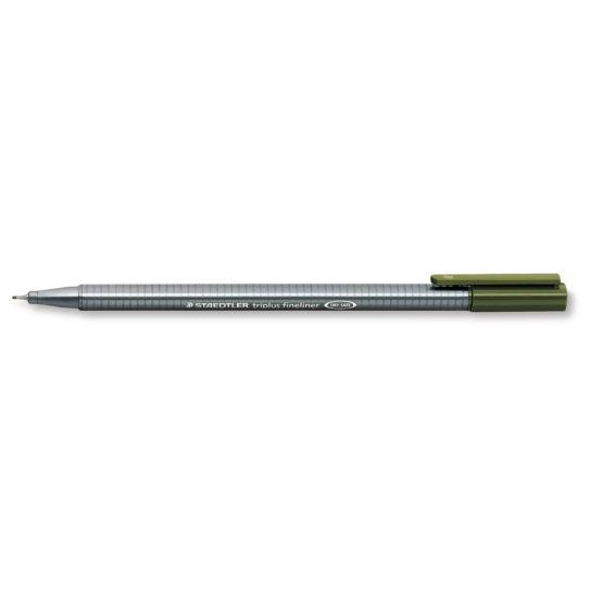 Fineliner Triplus 0,3mm olive green