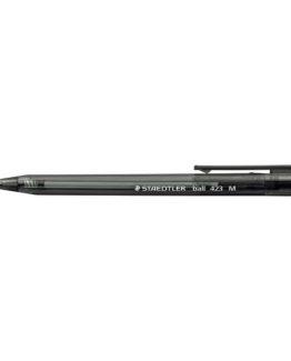 Ballpoint pen w/klick-in M black