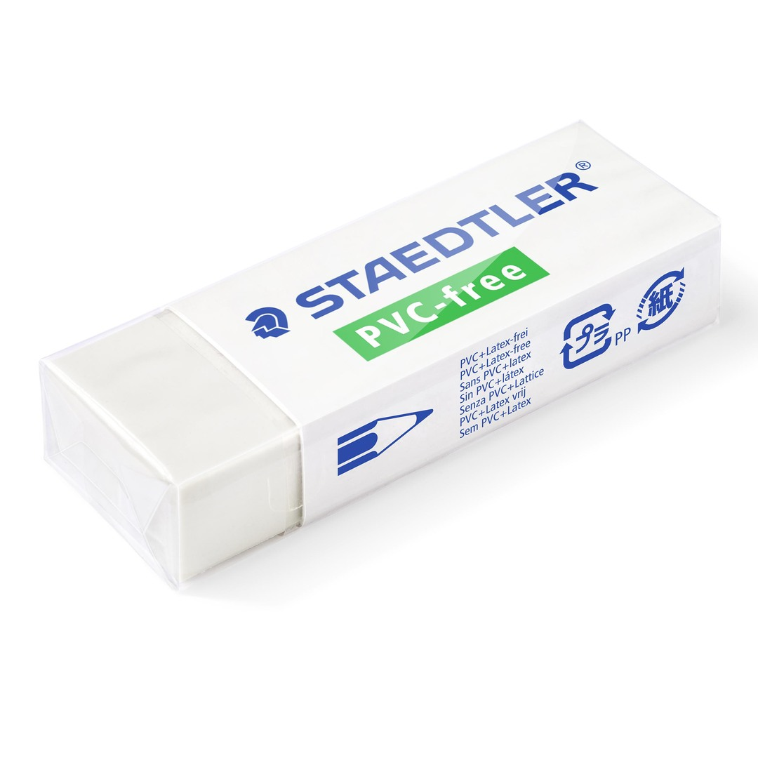 Eraser PVC-free 65x23x13mm