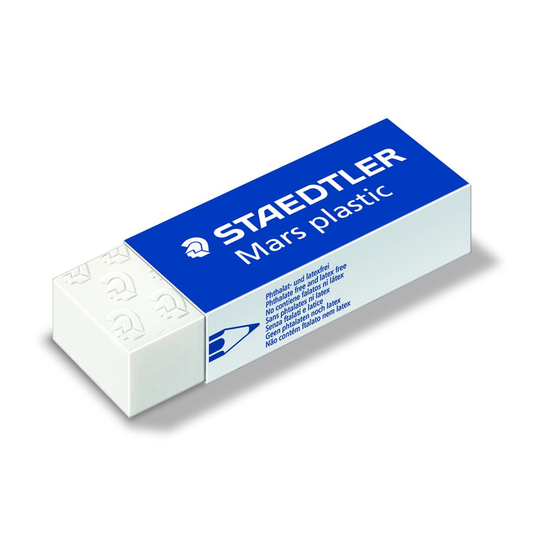 Eraser Mars plastic 65x23x13mm