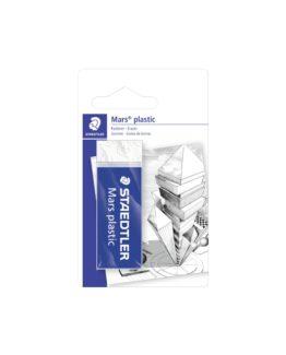 Eraser Mars plastic 65x23x13mm blister