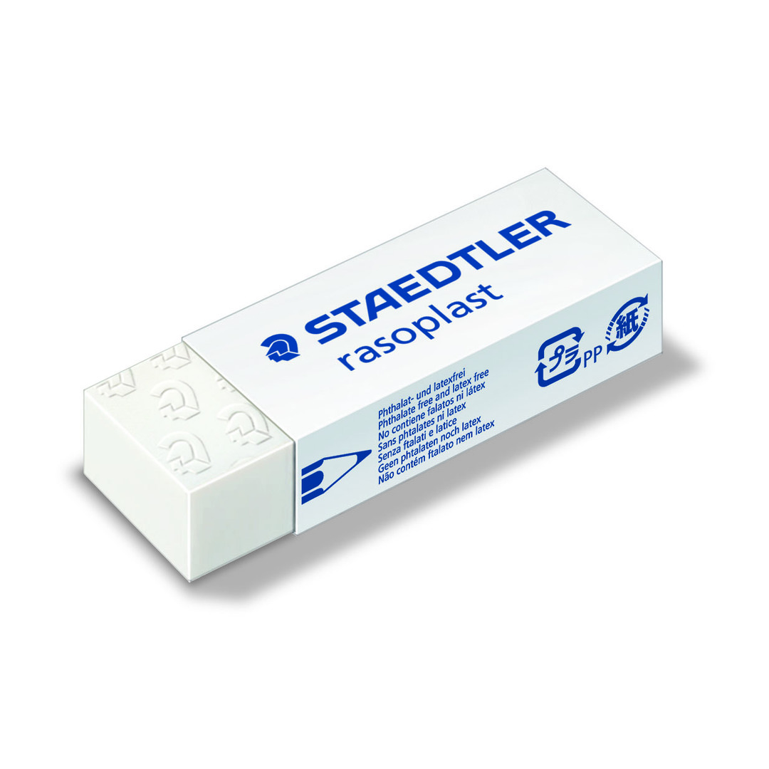 Eraser Rasoplast 65x23x13mm