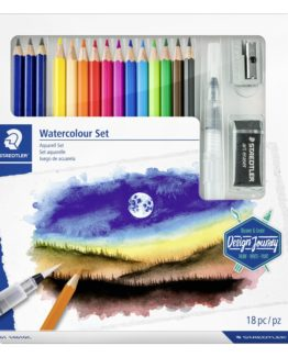 Mixed set of watercolours 100% PEFC