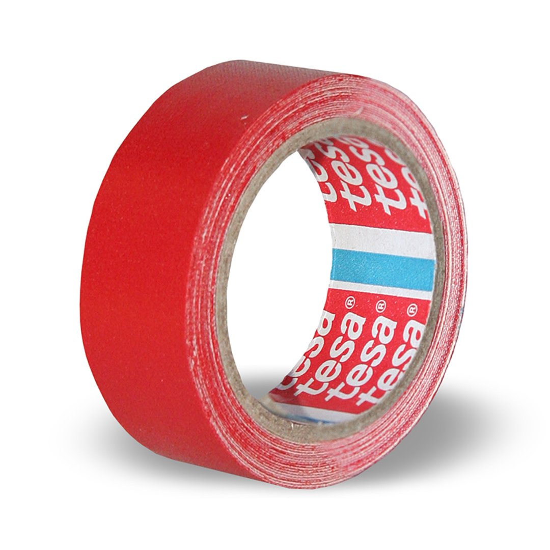 Tape tesaband 19mm red 56341