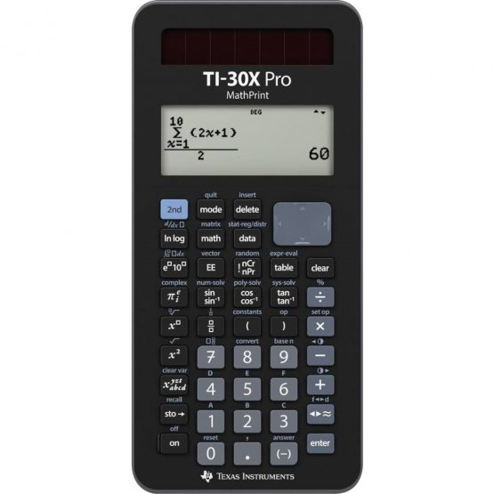 Texas TI-30X Pro Mathprint Scientific calculator