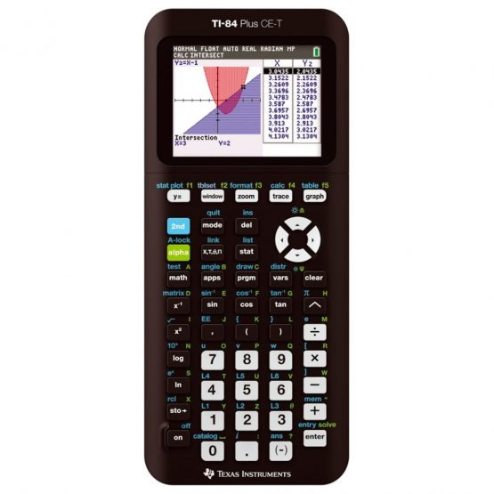 Texas TI-84 Plus CE-T Graphing calculator