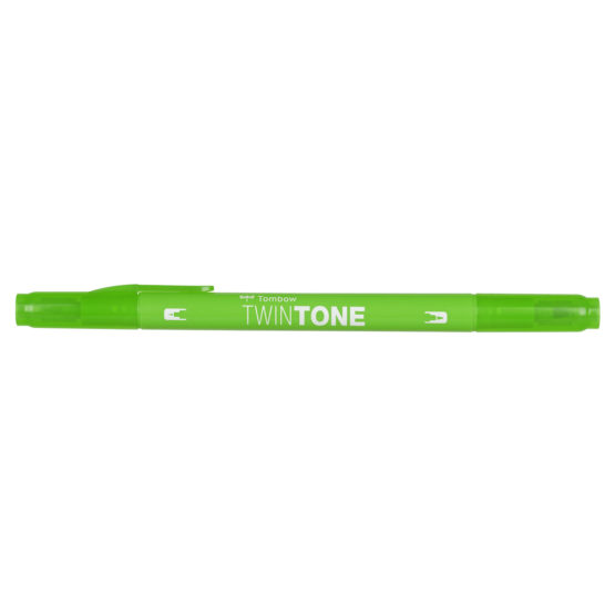 Marker Tombow TwinTone yellow green 0,3/0,8