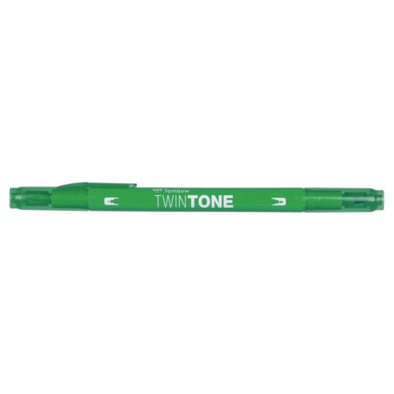 Marker Tombow TwinTone green 0,3/0,8