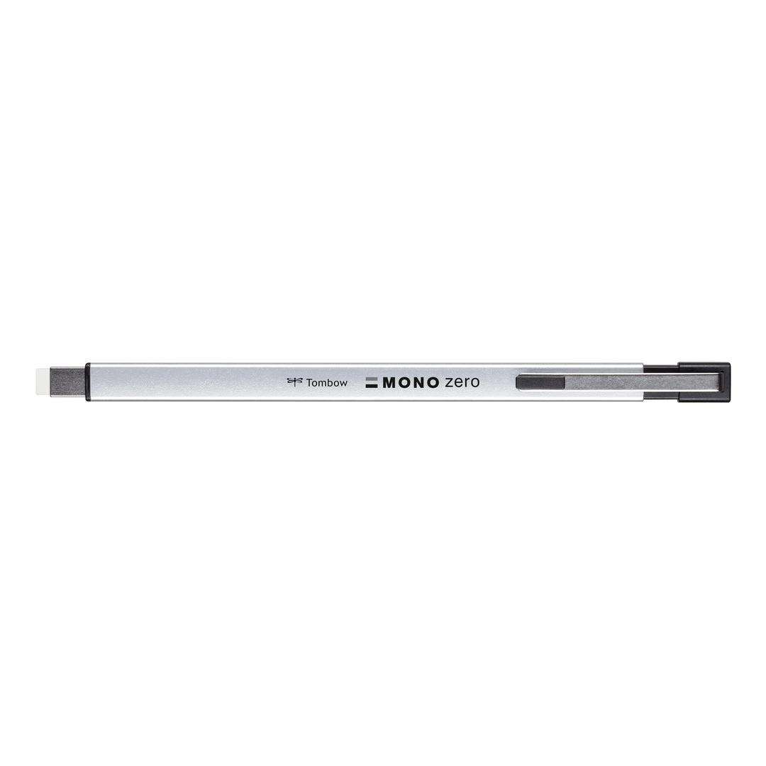 Eraser pen MONO zero metal silver