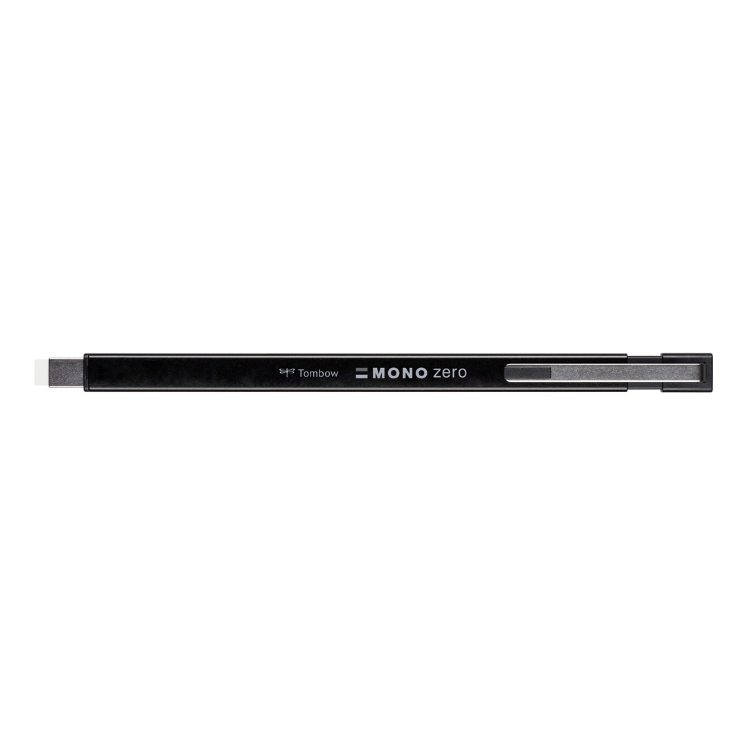 Eraser pen MONO zero metal black