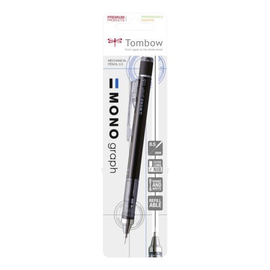 Tombow mechanical pencil MONO graph black blister