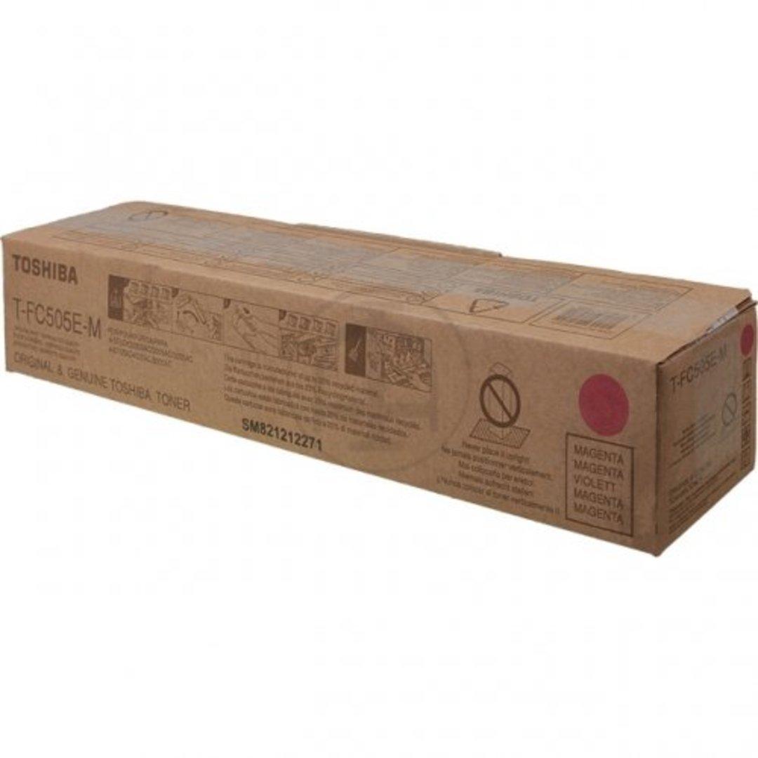 Toshiba toner cartridge magenta TFC505EM