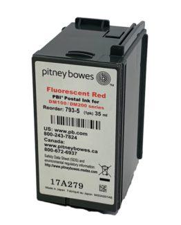 Pitney Bowes DM100iDM125iDM150i,DMI160iDM175i red ink