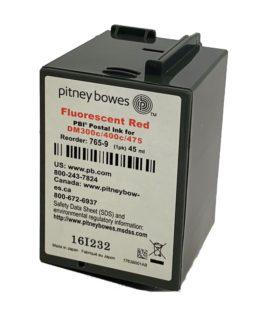 Pitney Bowes DM300c, DM400c red ink