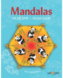 Coloring book Mandalas animals