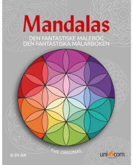 Coloring book Mandalas from 8years