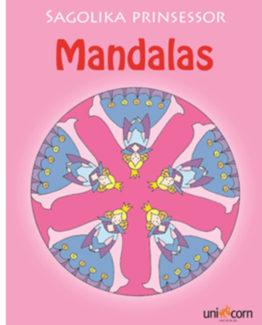 Coloring book Mandalas princesses