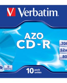 CD-R AZO, 52X, Crystal (10)