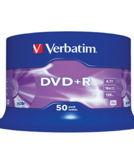 DVD+R 16x 4,7GB spindle (50)