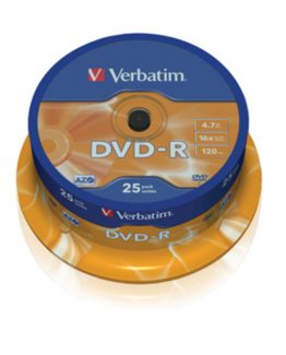 DVD-R 16x 4,7GB spindle (25)