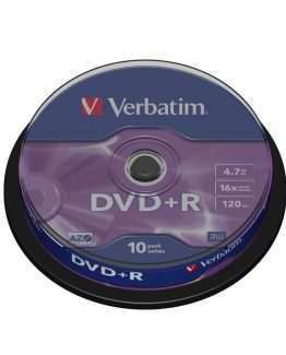 DVD+R 16x 4,7GB  spindle (10)