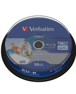 BD-R (blu Ray) 25GB 6x printable (10)