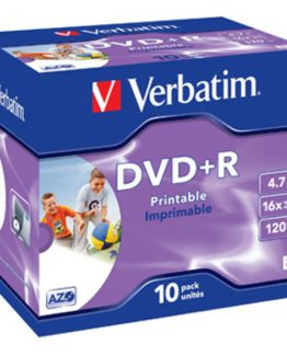 DVD+R 16x 4,7GB printable (10)