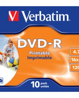 DVD-R 16x 4,7GB Printable (10)
