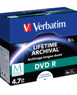 M-Disc Dvd-R 4.7Gb 4X Inkjet Printable (5)