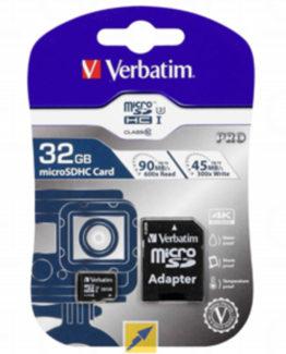 Micro SDHC Card PRO 32GB U3 with Adaptor