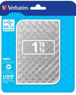 1TB Hard Drive 2,5'' Store 'N' Go USB 3.0, Silver