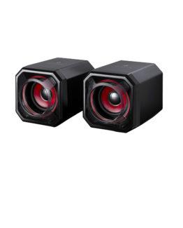 SUREFIRE Gator Eye Gaming Speakers, Red