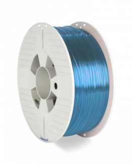 3D Printer Filament PET-G 1.75MM 1KG BLUE TRANSPARENT