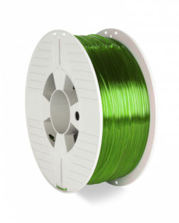 3D Printer Filament PET-G 1.75MM 1KG GREEN TRANSPARENT