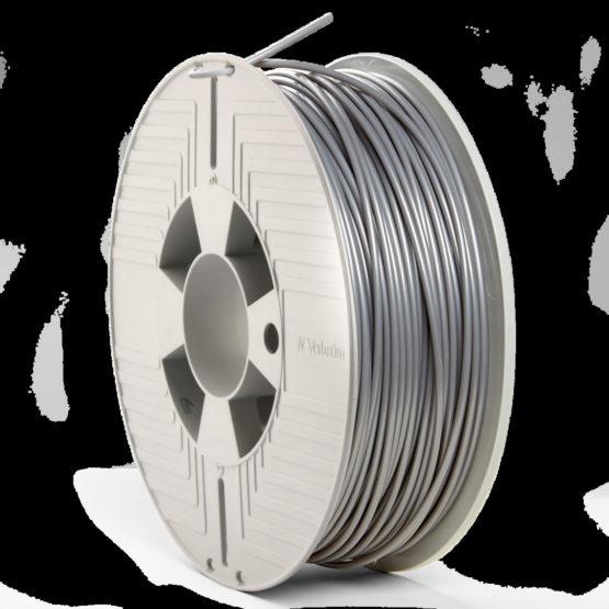 3D Printer Filament PLA 2.85MM 1KG, Silver/Metal Grey