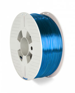 3D Printer Filament PET-G 2.85MM 1KG, Blue Transparent
