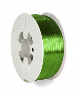 3D Printer Filament PET-G 2.85MM 1KG, Green Transparent