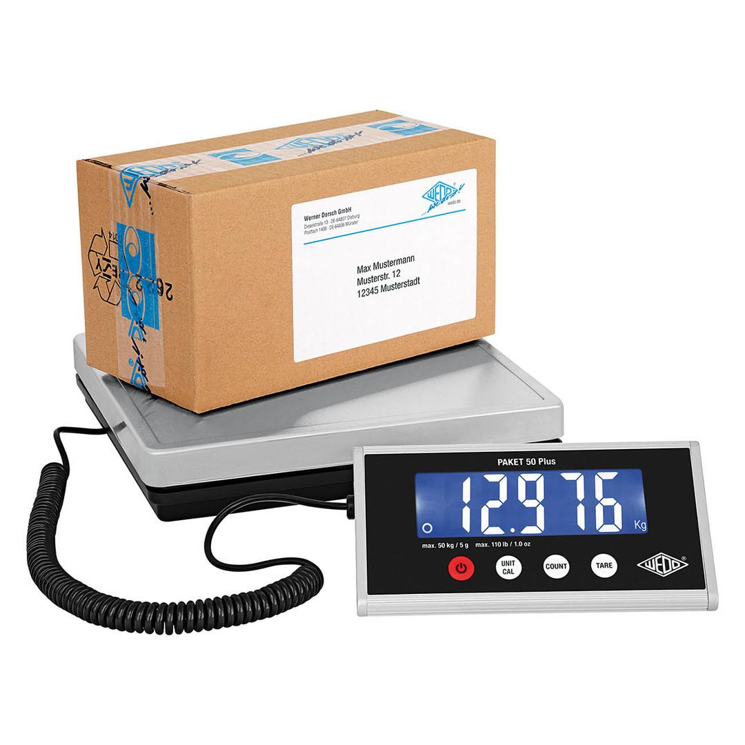 Electronic Parcel Scale PLUS Wedo 50kg