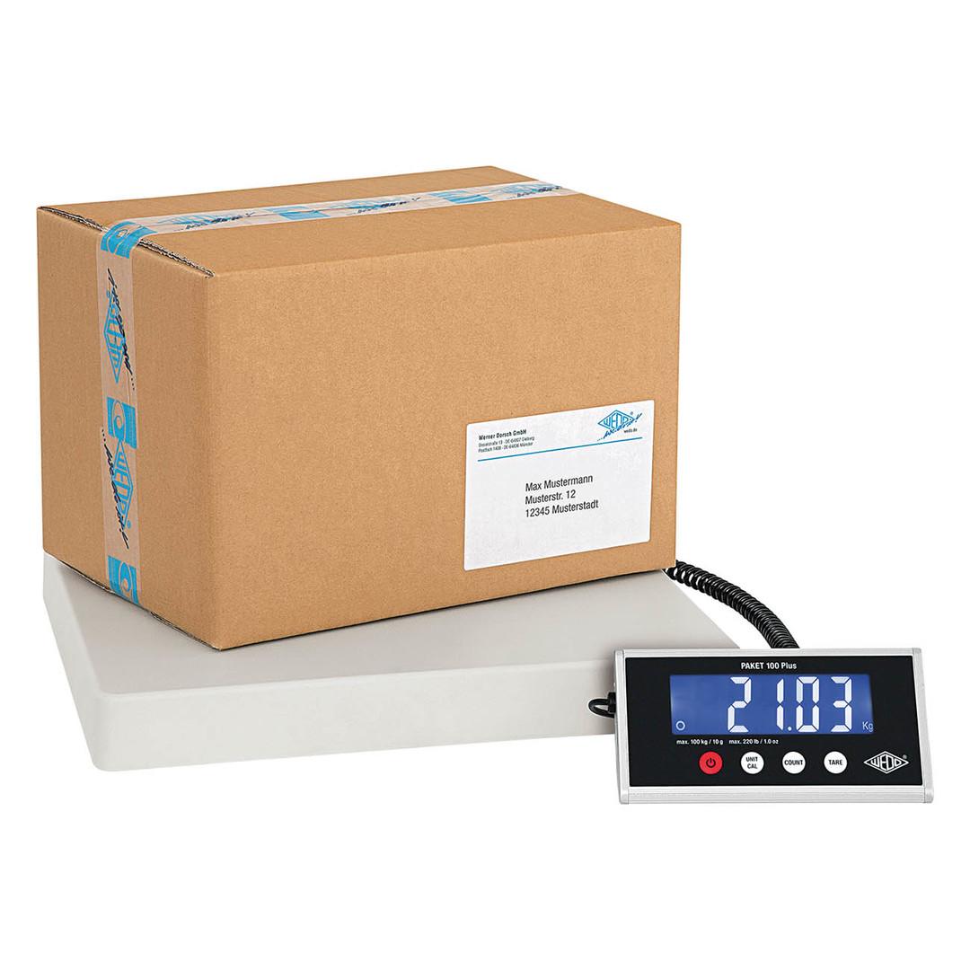 Electronic Parcel Scale PLUS Wedo 100kg