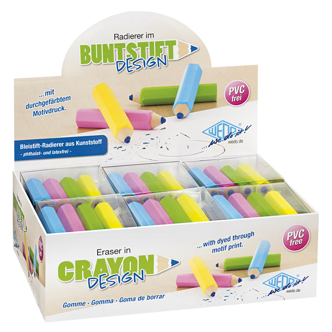 Eraser pencil 4/set