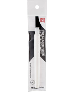 Zig Brush Pen refill White