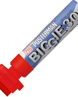 Marker ZIG Posterman B&B 30mm red