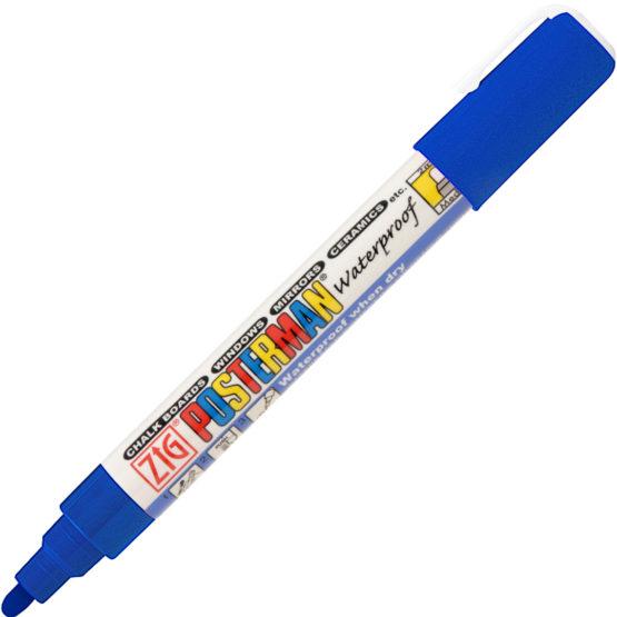 ZIG Posterman Medium 2mm blue