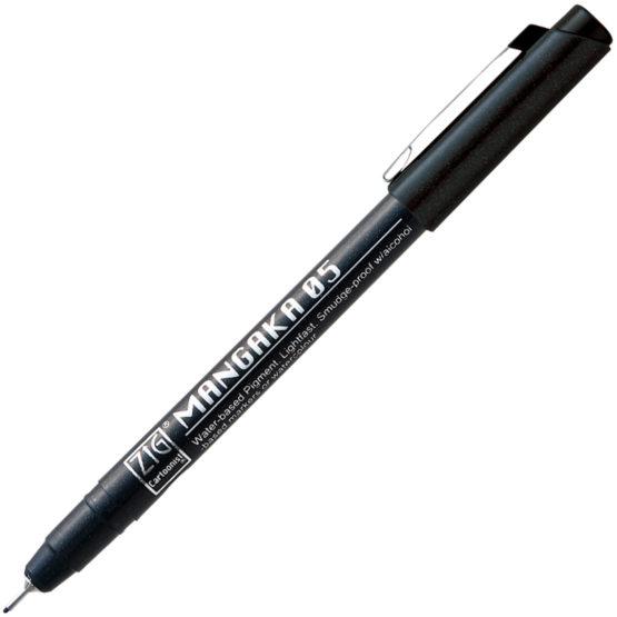 ZIG Mangaka Fineliner 05 Black