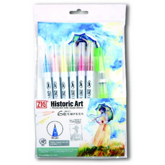 ZIG Clean Color Real Brush special set